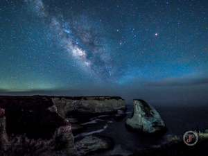 Milky-way over Shark Fin Cove