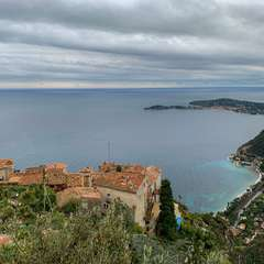 Panoramic views from Eze village
