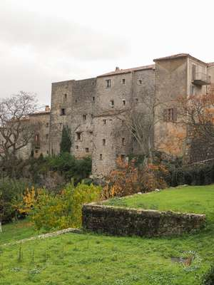 Medieval fortress of Gourdon